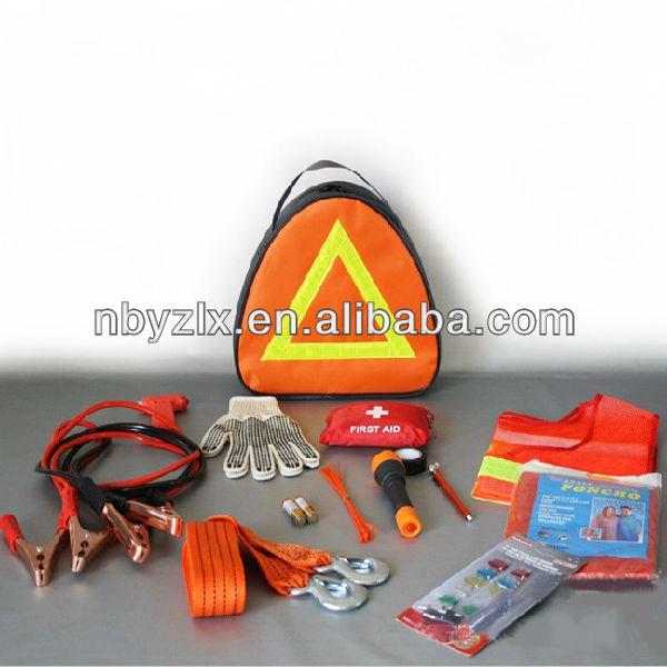 Car emergency kit / auto emergency set / vehicle emergency kit
