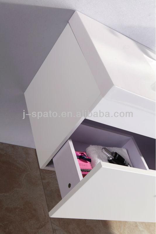 2013 Hot Sale Hanging Modern MDF Homebase Bathroom Cabinet JS-B011