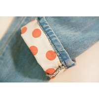 Женские шорты 3, 750 Korean women's fashion spring/summer 2012 new wave tide of flanging pants of nine holes in jeans women