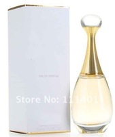 Free shipment 2012 women perfume without golden powder with original package 100ml