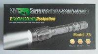 Светодиодный фонарик KF T6 1600lm Zoomable ,  5 + 15