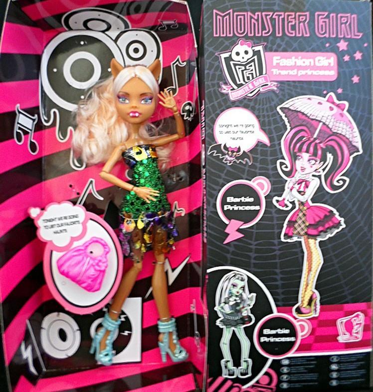 образование Кукла Рождественский подарок лучший продавец монстр высокой куклы, 3 шт / 3 стиле безупречное качество деятельности суставов