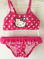 купальник для девочек cute tankinis lace swim suit minnie mouse hello kitty costume girl children cheap swimwear blue