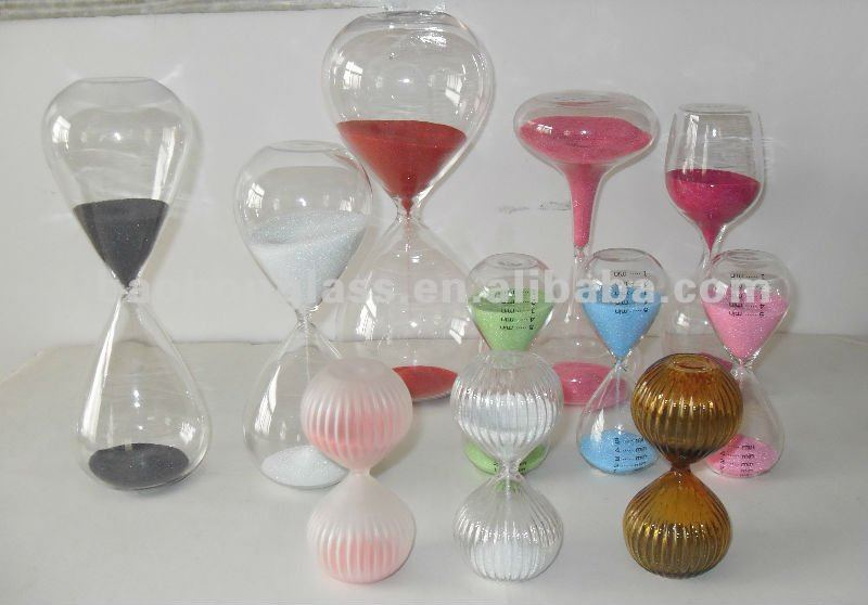 Merry Christmas!!! Colorful Mini Kids Safety Promotion Hourglasses 1,3,5 minute