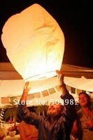 300ps/Lot+Free shipping Mixed Color Shipping UFO Sky Wishing Lantern,Flying Lantern Chinese Lantern Wedding/Xmas/Halloween/Party