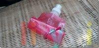 6 цветов BPA бесплатно! спортивные бутылки с водой складной 500мл pt005