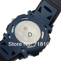 HighQuality PASNEW 50M Water-proof Dual Time Boys Men Sport Watch LED-004