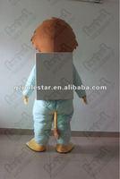 Мужской маскарадный костюм solid face lion mascot costume with backpacks