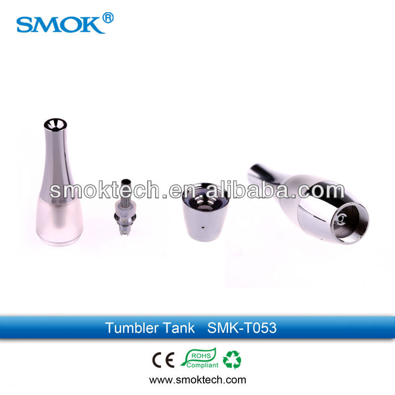2013 Smoktech Colorful ego Tumbler tank Bottom Coil Heating Tank Clearomizer