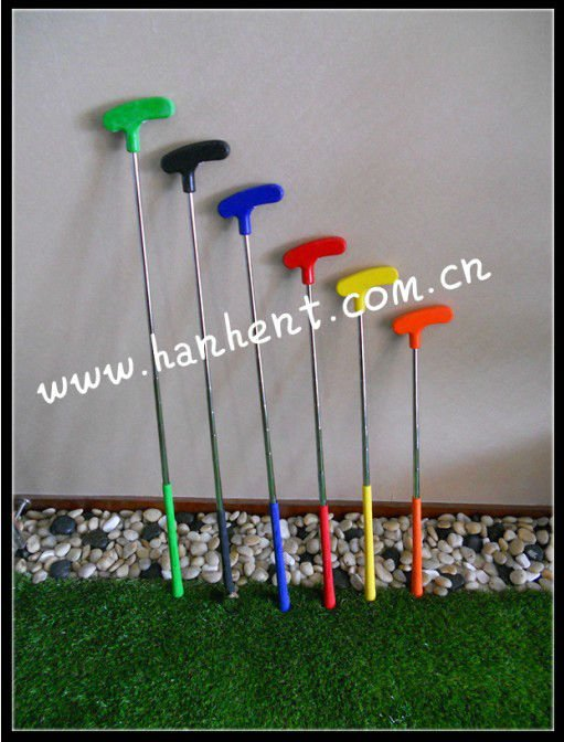 Promotionnel! Le marché australien Golf caoutchouc Putter mini Golf putters