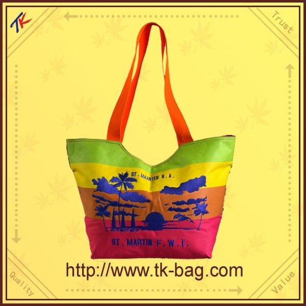 Mode et coloré sac à main très pas cher plage sacs Shopping sacs