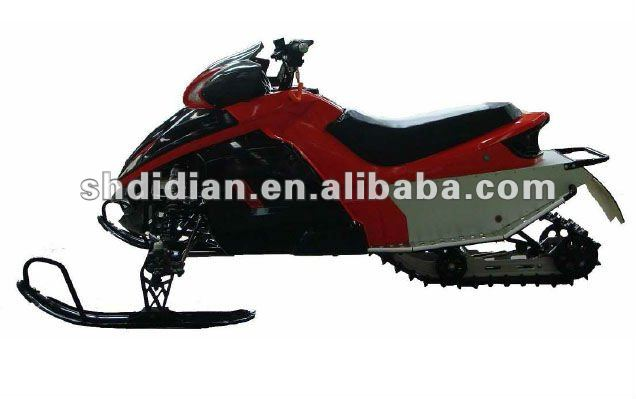 Norway like mid-sized 250cc/300c Liquid-cooled automatic snow mobile/sled/ski/snow scooter with CE