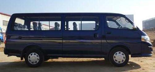 14 Seats Chinese Left Hand Drive Minibus