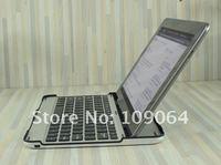 free shipping NEW Ultrathin Aluminium Wireless Bluetooth Keyboard for Samsung Galaxy Tab 2 10.1 P5100, Free shipping