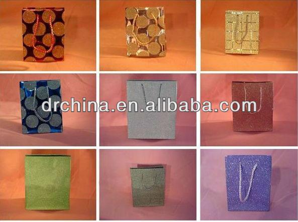 Nouveau style 2013 boîtes d'emballage pp tissu