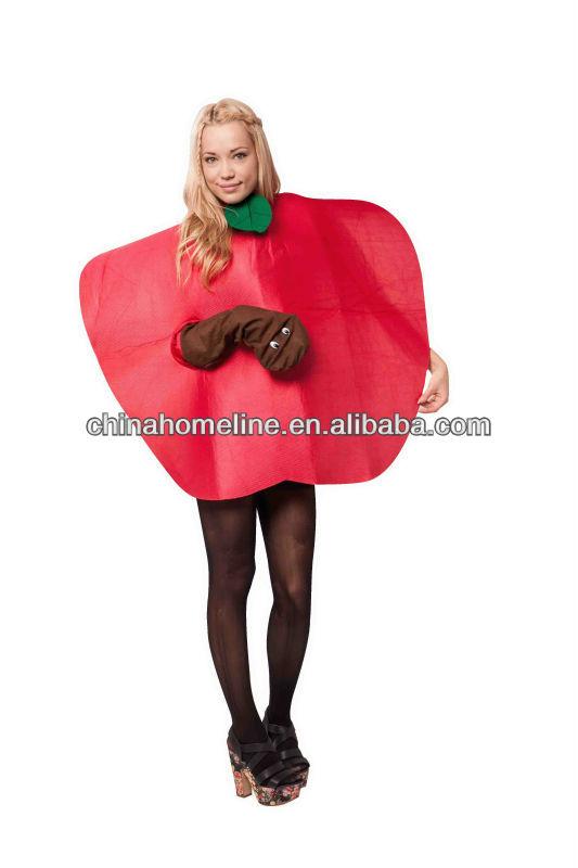 2013 Cheap Cotton Female Apple Adult Costume