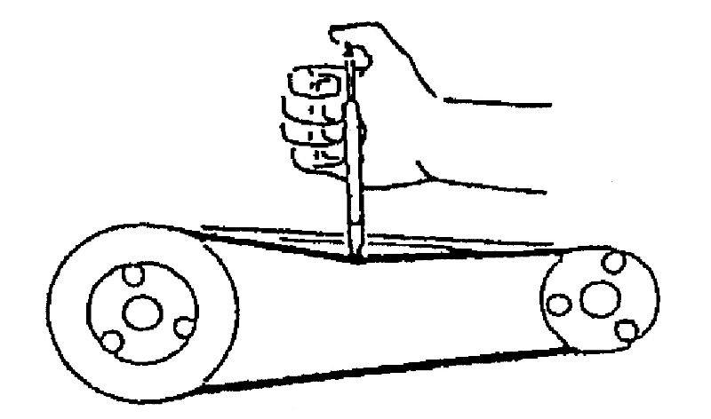Belt Tension Gauge Tool Pencil Type Belt Tension Gauge