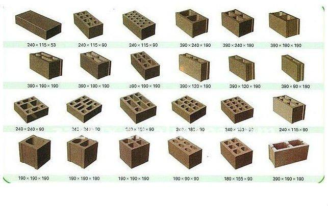 Pavimentadora m quina del bloque de cemento para el precio - Precio de ladrillos huecos del 12 ...
