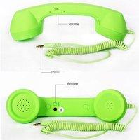 Телефонная гарнитура Telephone Headsets for iphone 4s Stylish retro mobile phone handset for iphone 4 handset cell phone hansets
