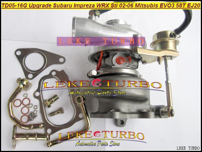 TD05-16G TD05H-16G 49178-06310  for Upgrade Subaru Impreza WRX Sti 02-06 Mitsubishi EVO III 58T EJ20 Turbo Turbine Turbocharge (4)