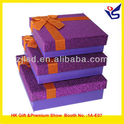 2013 new square empty promotion gift box