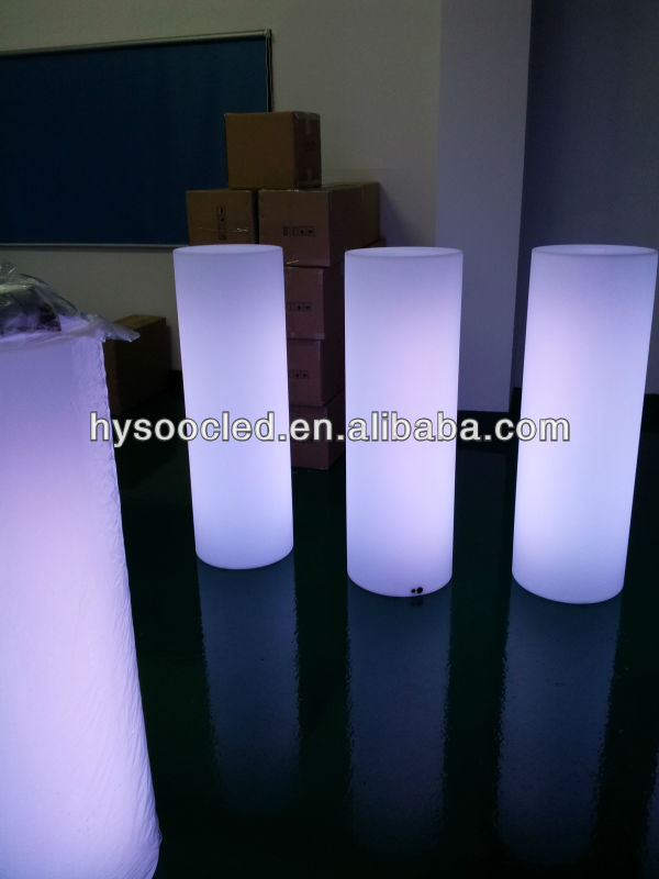 wedding party illuminated column,lighting pillar event decor