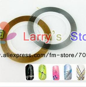 Скотч-лента для ногтей дизайн фото