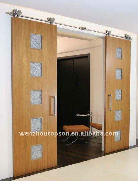 sistema de puertas de granero puerta corredera de madera puerta de madera de hardware with puertas correderas colgantes