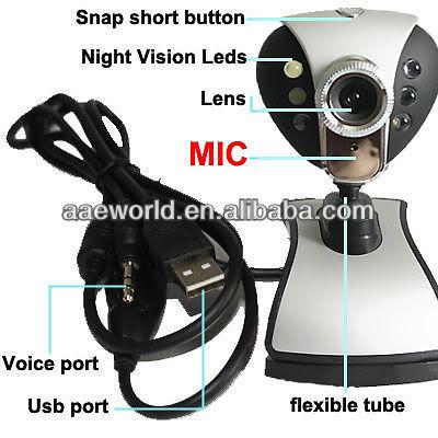 Free driver pc camera,720P HD webcam