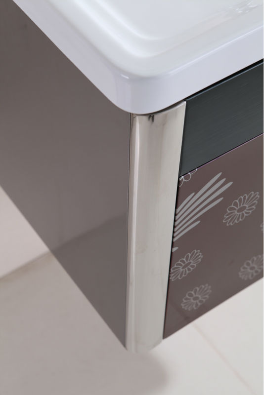 Hot Sale 2013 High Quality European Style Delux Furniture Stainless Steel Mirror Steel Cabinet