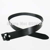 Женская одежда из кожи Retail Black Classic Genuine Leather Snap On Belt Fast Delivery