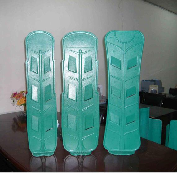 Sector shape glass steel antiglare shield