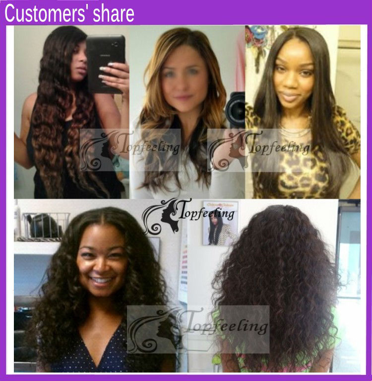 Natural curl 5A virgin human hair natural color sexy front lace wig
