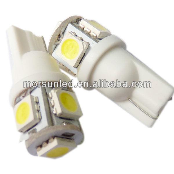 T10 SMD 5*5050smd 12V DC led auto tuning light (MST105S5-12V)