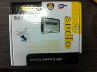 Free shipping!5Pcs Tape to PC Super Portable USB Cassette-to-MP3 Converter Capture,USB cassette capture