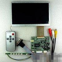 """7"""" LCD 800*480 +VGA+2AV+Remote control + Driver board"""