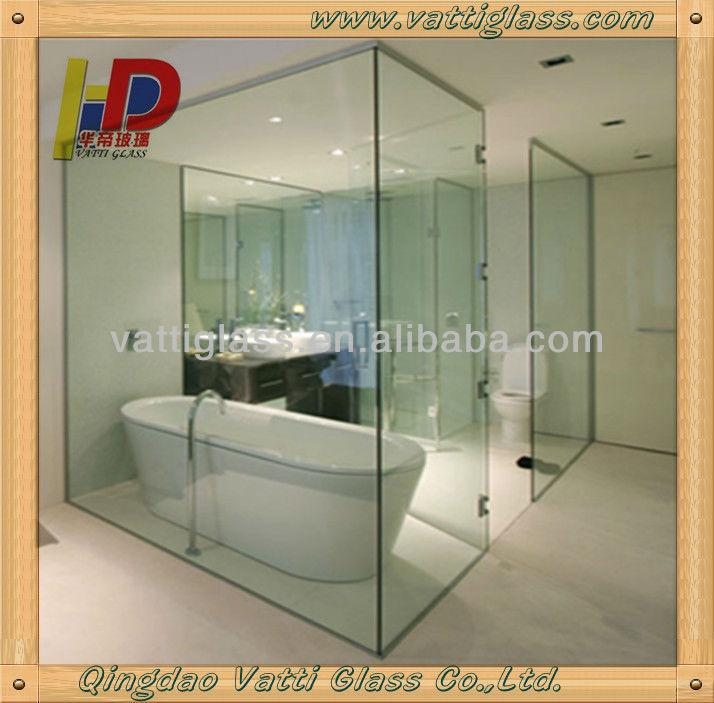 De vidrio esmerilado cuarto de ba o de la puerta cuarto - Puerta corredera cristal bano ...