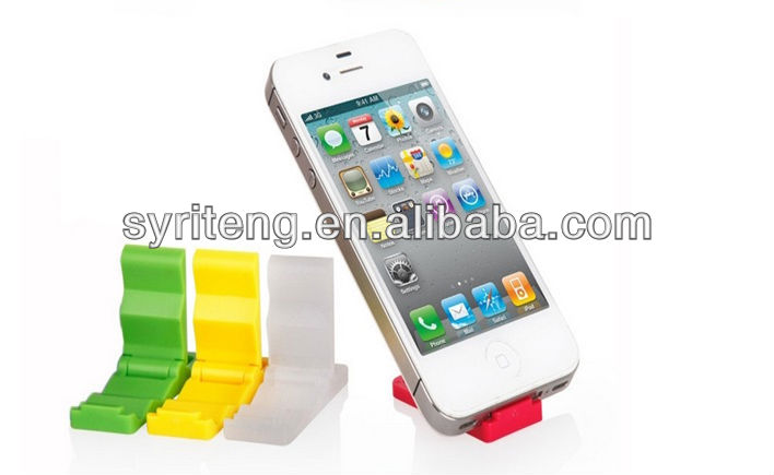 promotional funny cell phone holder for desk mobile phone wall holder