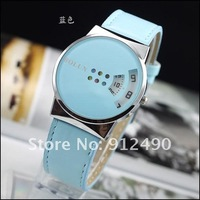 Наручные часы Gift box advertising 8 colors New design Bolun Dots Hour Marks women Fashion Leather wrist watch