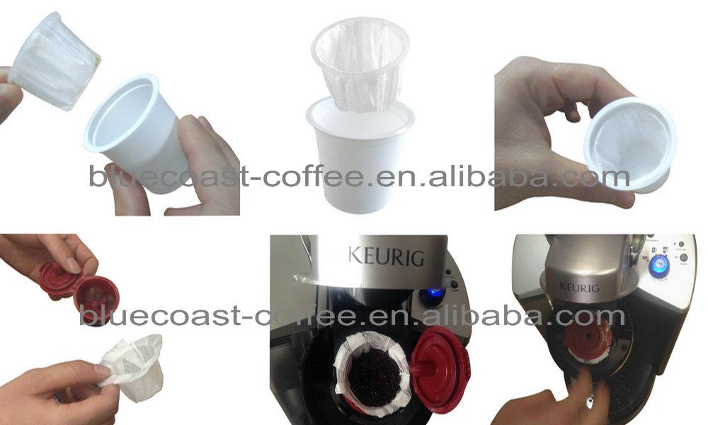 Reusable/refillable Keurig K Cup Filter,Eko Cup - Buy Reusable Keurig K Cup Filter With Capsule ...