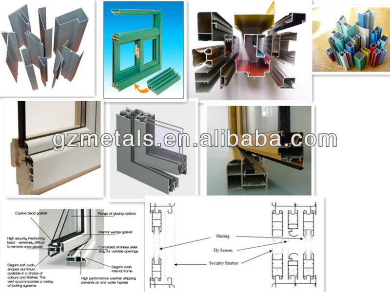 Metals new style home furniture!newest tempered glass sliding aluminum door and window screen
