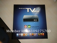 Домашний кинотеатр 2012 GOOGLE Android 4.0 SMART TV BOX Bult-in WIFI, Cortex-A9 1.4GMHz 1GB DDR 4GB Nand Flash Flash 11