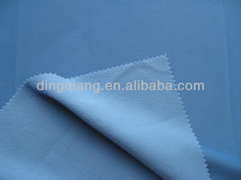 220gsm super poly fabric/tricot brush fabric for school uniform/sport wear fabric
