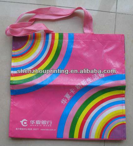 HOT!! Non woven OPP lamination bag / pp non woven bag