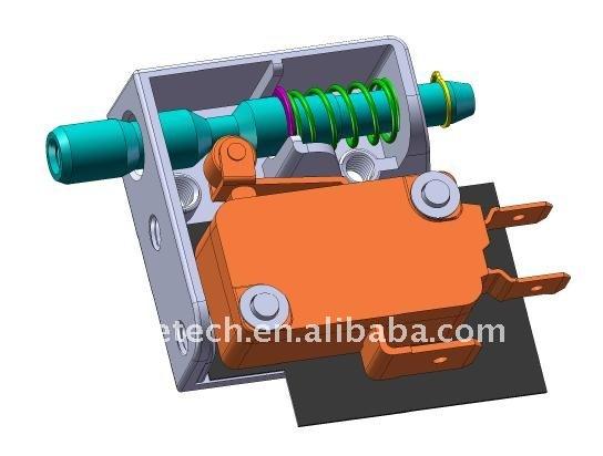 2015 zing ear magnetic door alarm switch latching push for 120 volt magnetic door switch