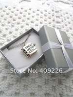Подарочная коробка для ювелирных изделий 20pcs/lot 2011 New TOP Jewelry Case/ Box Exported Earrings / Rings Package Box, Necklace package Silver color