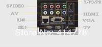 Smart 3d android 4.2 проектор! 220w привело лампа дневной проектор с идеальным отображения эффектов, видео проектор