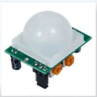 Датчик 10 pieces/lot, NEW Adjust Infrared IR PIR Motion Sensor Detector Module Security Motion HC-SR501