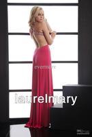 лето нового пришествия открытой спиной бисером асимметричный шифон платье выпускные платья пром платье
