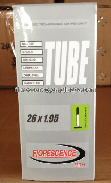 Butilo e tubo interno natural bicicleta 27x1 3/8